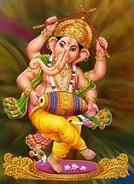 Sri Ganesha sloka-vinayakar