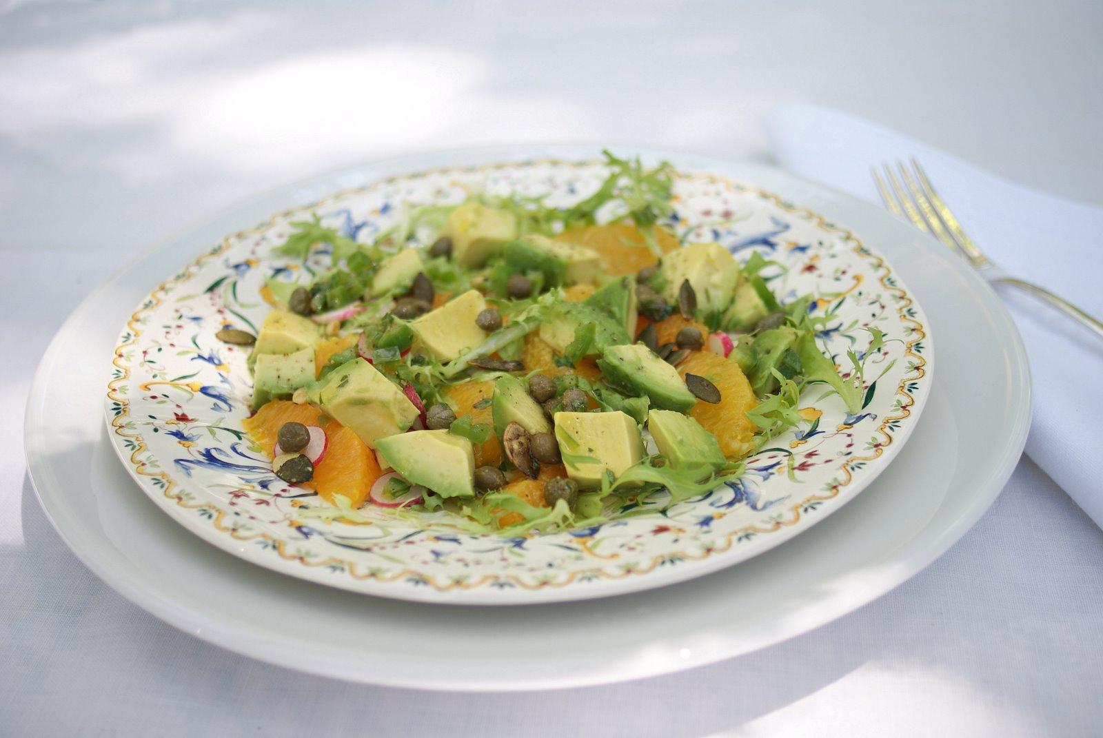 ... avocado salad avocado and radish sandwich avocado and orange salad