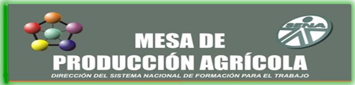 MESA SECTORIAL PRODUCCION AGRICOLA
