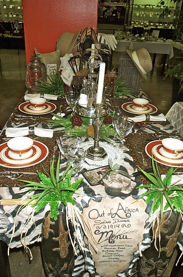 Etiquette with maura graber correct table setting artistic themed tables - African american party ideas ...