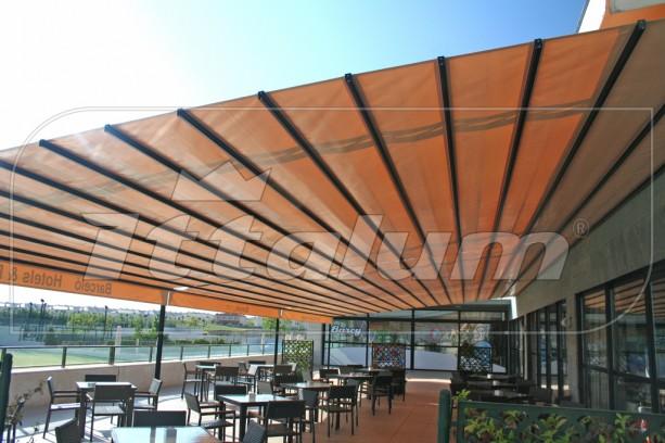 Yo quiero un ittalum toldo de paliller a la nueva era de for Toldo horizontal terraza