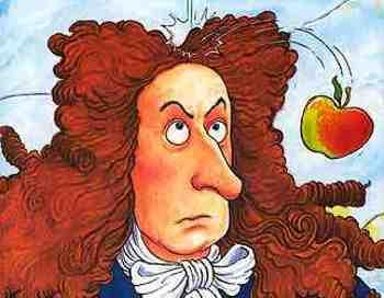 Olha o que uma maça fez com Newton !!