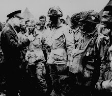 "General Eisenhower gives the order of the day ""Full Victory-- Nothing Else"""