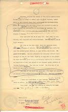 Draft of Gen. Eishnhower's letter