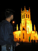 shimla vacation- christ church Shimla- Tourism places in india