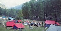 camping sight raison- kullu india- famous tourism places in india