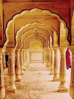 Amber fort- Jaipur palaces, jaipur forts- Famous places in India