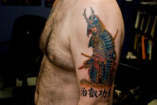 samurai warrior tattoo. Samurai Warrior Tattoos