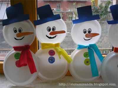 Sogna e crea addobbi per l 39 inverno for Addobbi di natale per bambini scuola infanzia