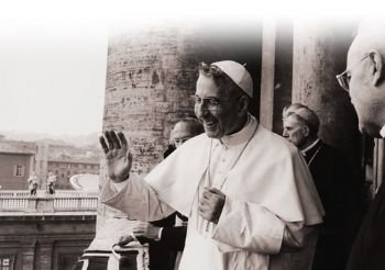 PAPA LUCIANI<br>THE SMILING POPE
