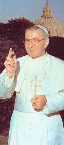 Papa Luciani princely &  humble...