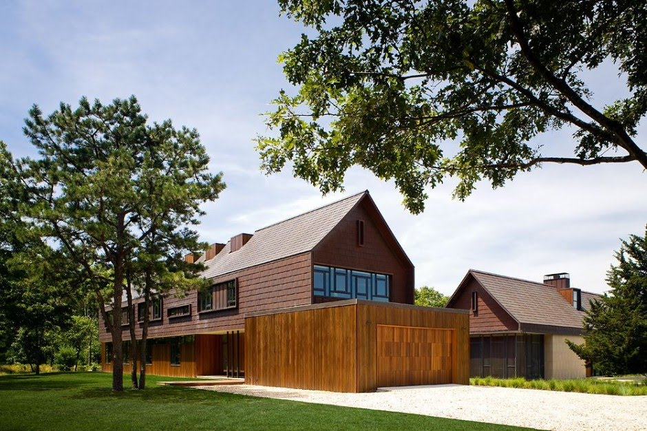 Northwest Peach Farm Modern Homes With Large Green Garden