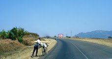 Typical Highway Scene in Malawi