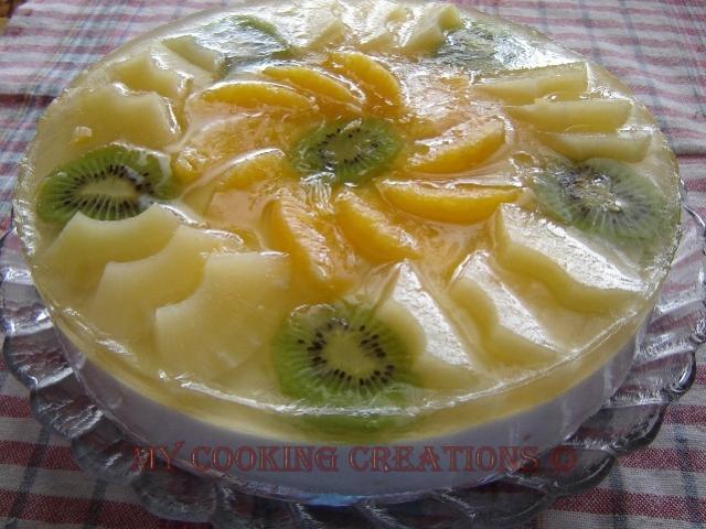 Парфе с ананас * Torta con ananas
