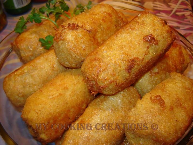 Картофени крокети * Crocchette di patate