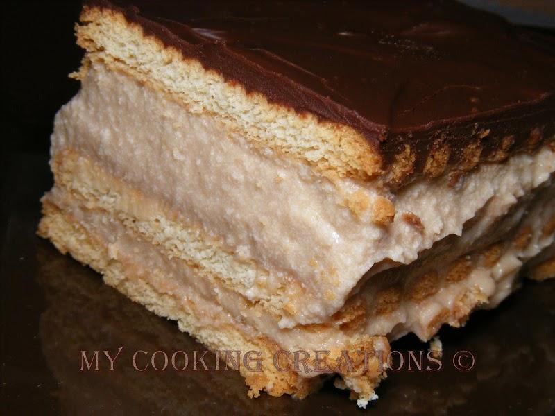 Бърза торта с крем капучино * Una torta veloce con crema capuccino