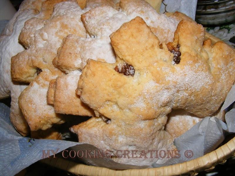 Cuddureddi * Сицилиански коледни сладки със смокини