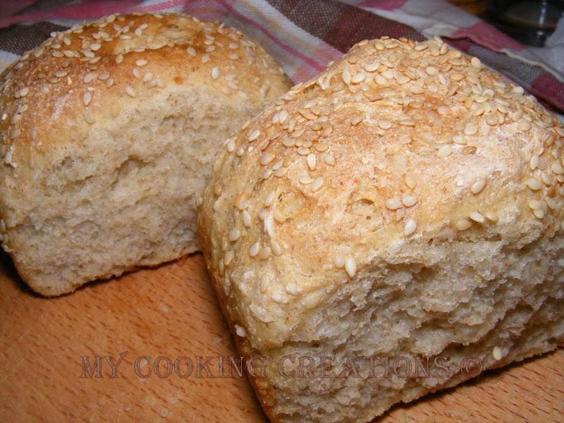 Pane greco Dactyla * Гръцки хляб Дактила