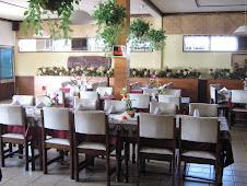 Binnen airco eetzaal