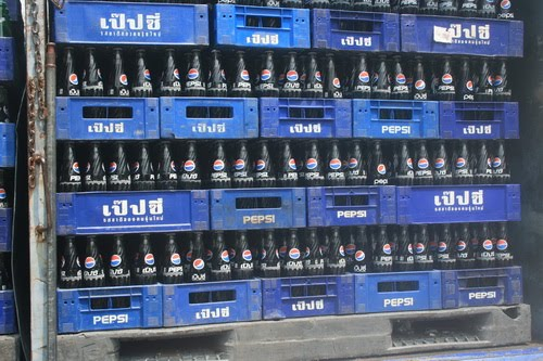 pepsi soft drink in thai monopolistically