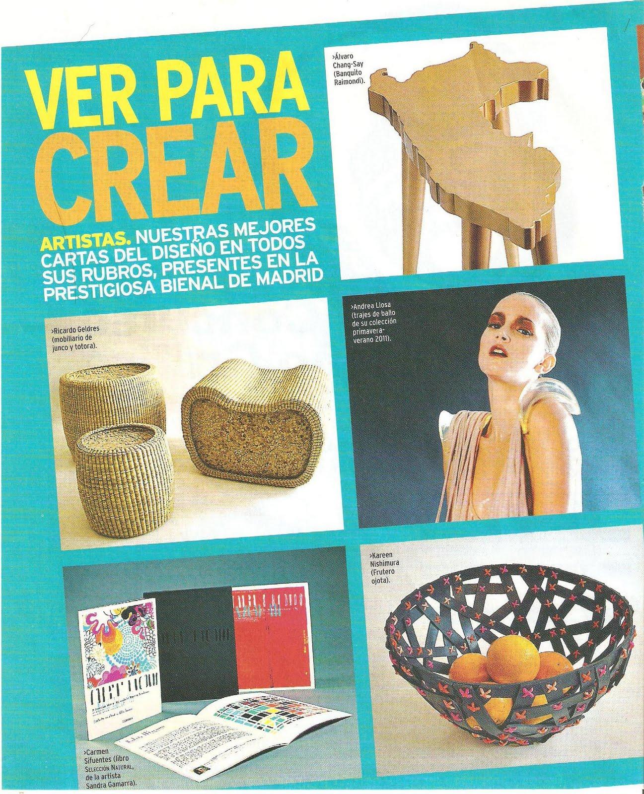 Dise a per dise adores industriales peruanos en la ii - Disenadores en madrid ...