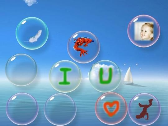Protector de pantalla de burbujas con movimiento - Imagui