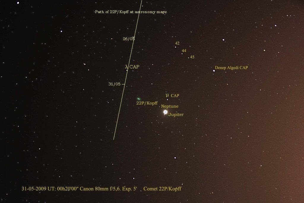 Comet 22P/Kopff