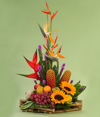 Ikebana, flores vivientes
