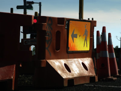 road works by David MacGregor