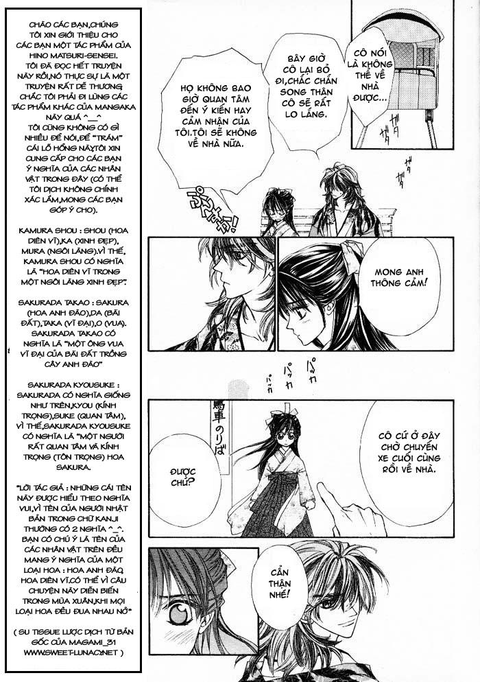 Haru wa Sakura chap 1 - Trang 12