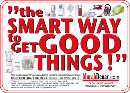 """the SMART WAY to GET GOOD THINGS !"""