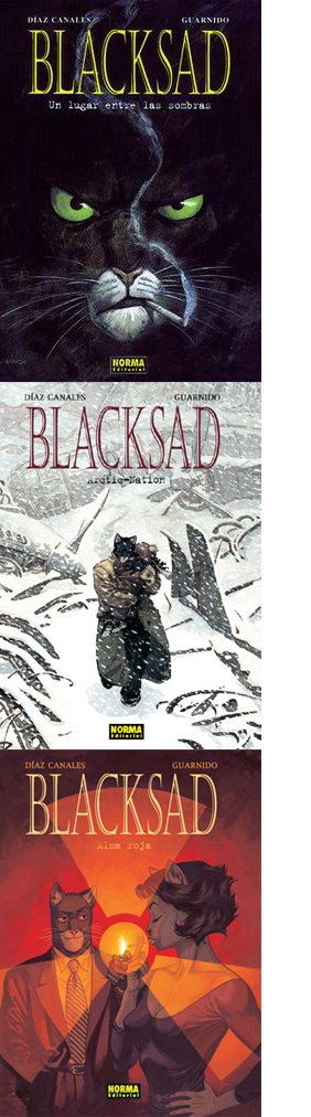 Blacksad (Canales - Guarnido)