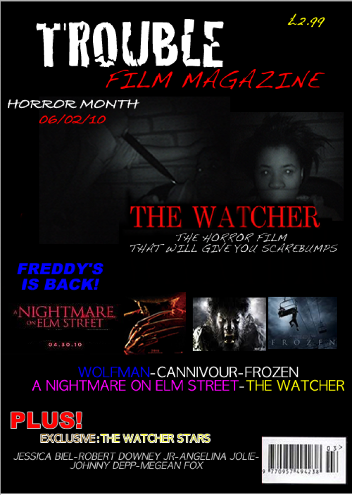 magazine barcode png. Trouble Film Magazine