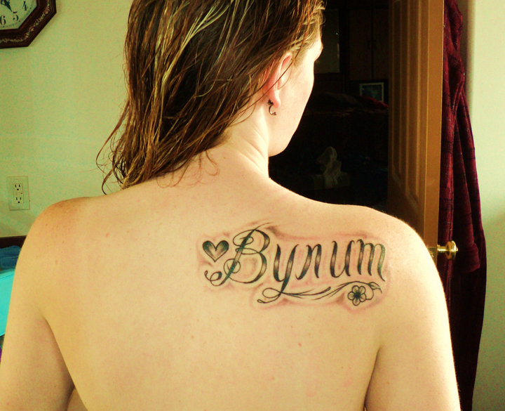 Shoulder Blade Tattoo-Design-For-Women9#