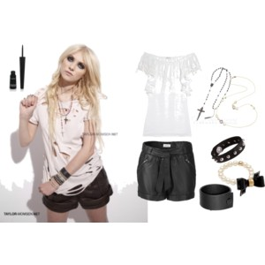 Taylor Momsen I want steal your style!