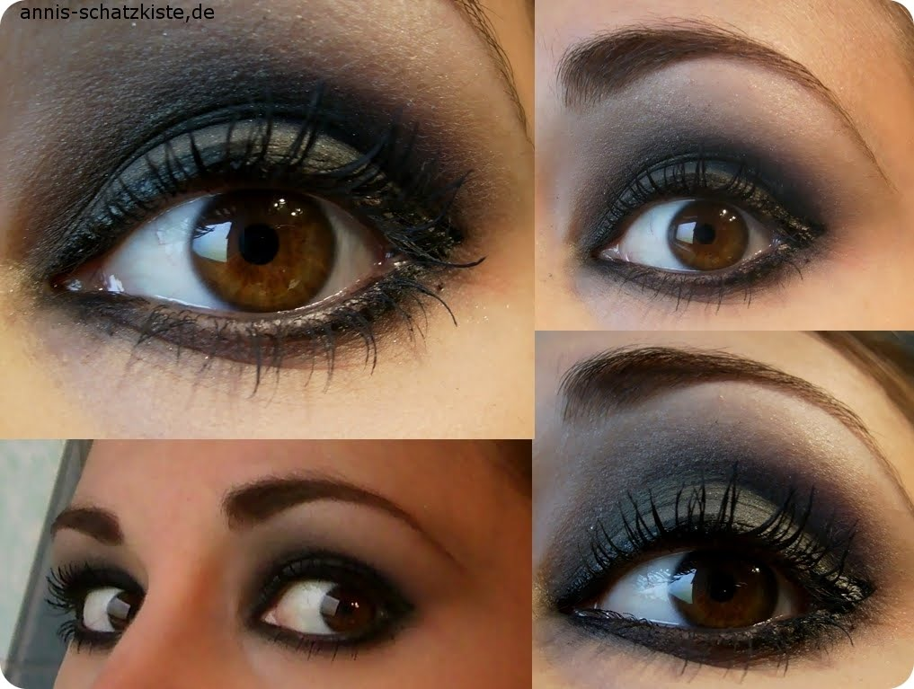 schminktipps braune augen smokey eyes. Black Bedroom Furniture Sets. Home Design Ideas