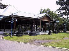 King Palace in Yogyakarta, Indonesia