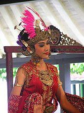 Javanese refined art of royal court dance.
