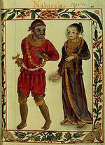 A Tagalog couple of the Maginoo caste depicted in the 16th century Boxer Codex.