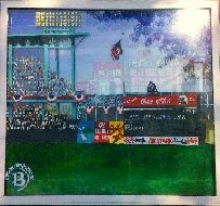 BASEBALL ART by Ron Nesbitt