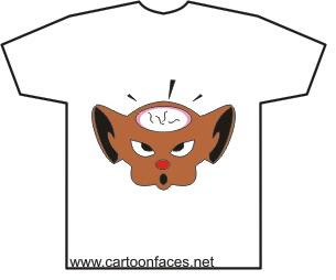 cartoon clothes shirts