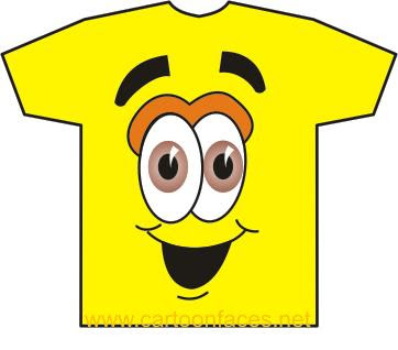 cartoon smiley shirt