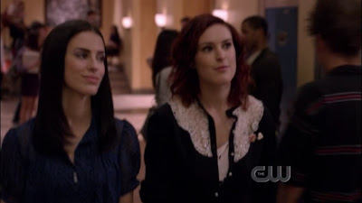 Rumer Willis Jessica Lowndes and Mandy Musgrave, 90210 Lesbian