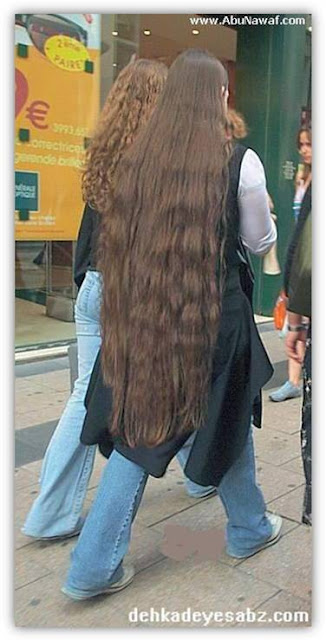 02 - beautiful Long hairs