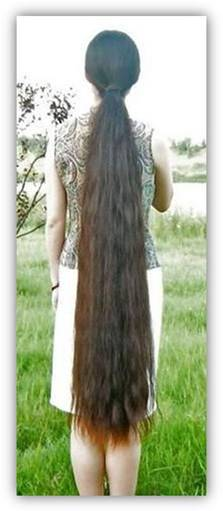 03 - beautiful Long hairs