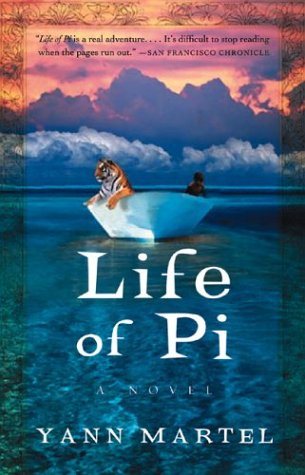 The Life of Pi by Yann Martel  CBR III Book  1 Life Of Pi Book