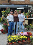 Jamey, Jane and I at the Market