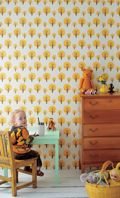 Ferm Living - Dotty wallpaper