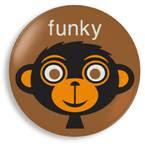 Jane Jenni - Funky Monkey plate