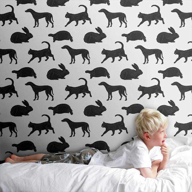 Paper Boy - Animal Magic wallpaper